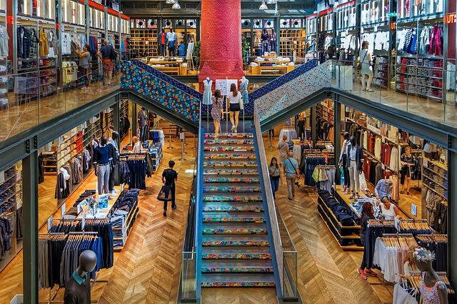 paříž obchod