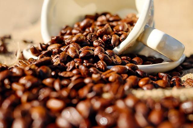 kávová zrna a šálek.jpg